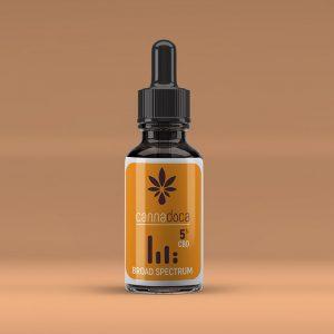 Cannadoca Broad Spectrum CBD oil 5% 2