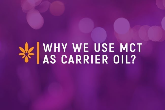 Why we use MCT as carrier oil?