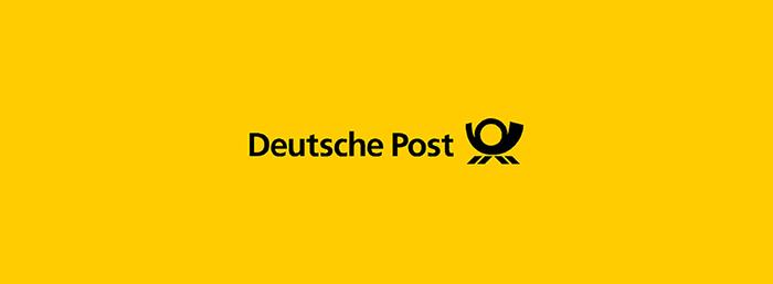 deutsche post logotips